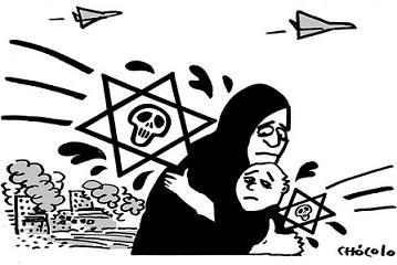 El lento genocidio palestino